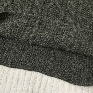 J. Crew Sweaters - Vintage J. Crew Cable Knit Fisherman Wool Sweater